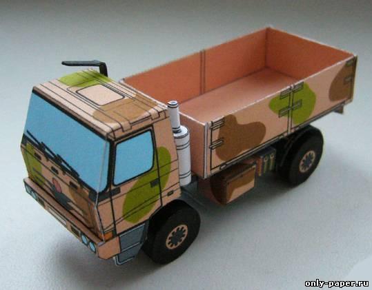 Чертежи грузовиков фото своими руками