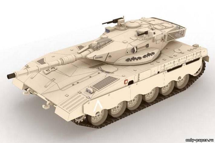 Название: Танк Merkava Mk2