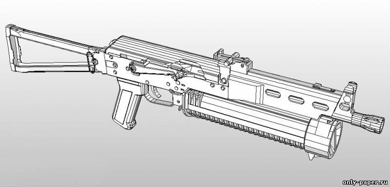 Название: Пистолет-пулемет