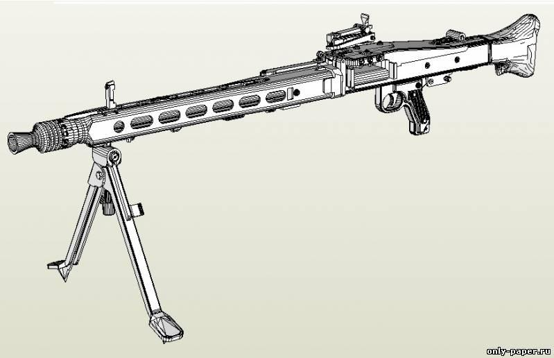Название: Ручной пулемет MG-42
