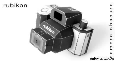 Как сделать из бумаги фотоаппарат фото 814