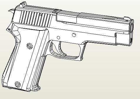 Название: Пистолет Sig-Sauer