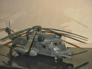 Сборная бумажная модель Sikorsky MH-53 Pave Low Helicopter (Transformers)